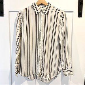 Everlane striped blouse